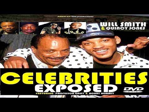 CELEBRITIES EXPOSED: WILL SMITH & QUINCY JONES (DVD) feat Professor Griff & Bobby Hemmit (HQ)