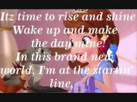 Rise and Shine (Off the new Disney series Sofia the First) C: