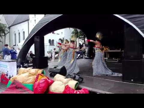InaDance - Tari Kompang (Denmark Asian Culture Festival)
