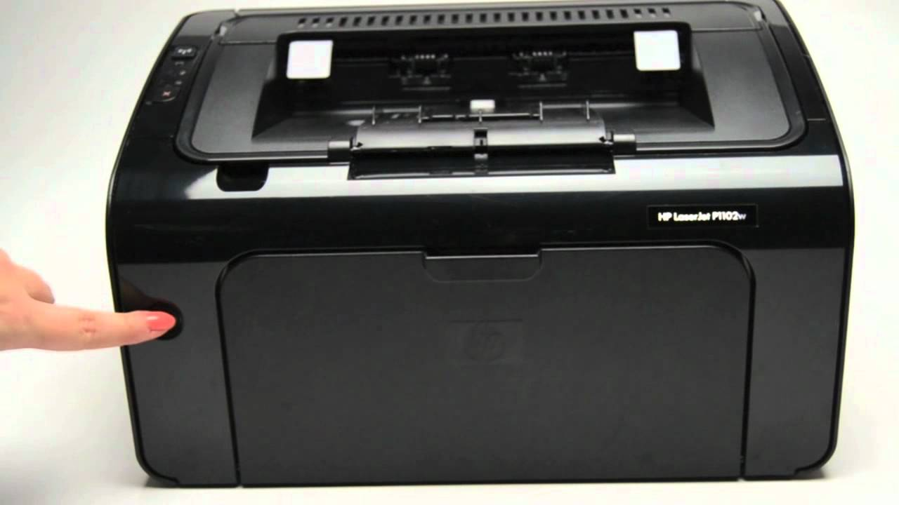 HP P1102W LaserJet Pro Windows 7