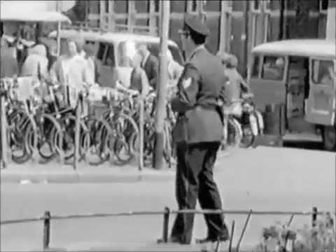 Hilversum 1964. Centrum, Anna's Hoeve en station + omgeving.