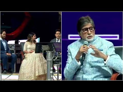 UNCUT ! Amitabh Bachchan Played KBC With Ambani Family At Reliance 40 Years - Bollywood Live