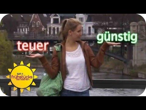 Fitnessstudio: Teuer vs. Billig   SAT.1 Frhstcksfernsehen