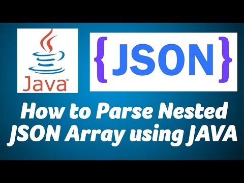 How To Parse Nested JSON Using JAVA