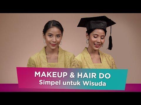 Tutorial Makeup Wisuda + Hairdo Yang Mudah Dicoba!   Sorabel