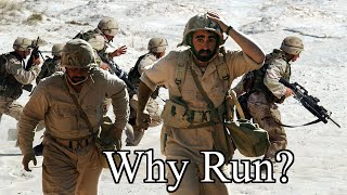 When and why do men run away in battle?  A proposed scientific experiment.