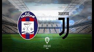 Crotone 1 -1 juventus!! live reaction tifoso juventino!! simi come ronaldo pazzesco!!!