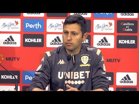 Manchester United 4-0 Leeds - Diego Flores Post Match Press Conference - Man Utd Tour 2019