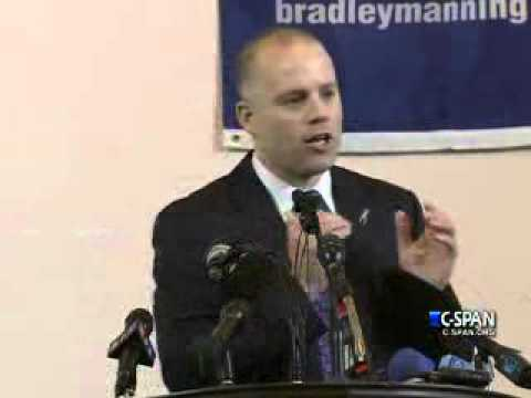 First ever presentation by Bradley Manning's attorney David Coombs