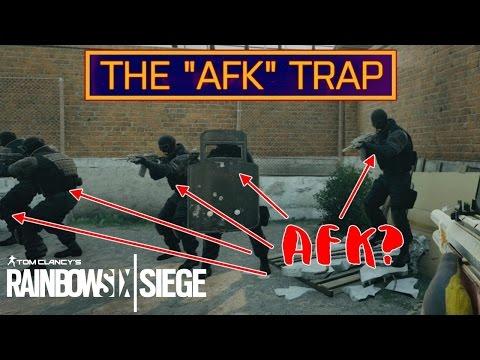 "THE ""AFK"" TRAP! (Ambush Challenge) Casual Strats #1   Rainbow Six Siege Gameplay"