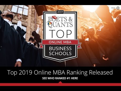 Top 2019 Online MBA Ranking Released: Find Out Who Placed First