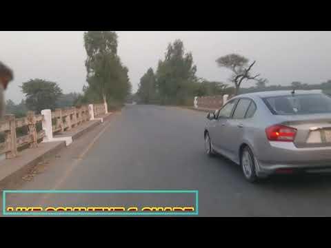 NAROWAL TO SHAKARGARH BEAUTIFUL ROAD VIEW ACROSS BORDER | PAKISTAN - INDIA BORDER