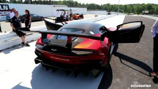 $2.3M Aston Martin Vulcan - Loud Track Day Noises!