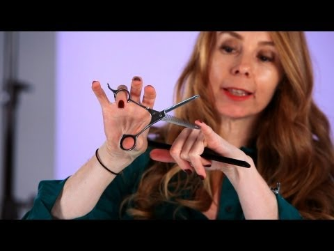 How to Use Notching Shears | Hair Cutting