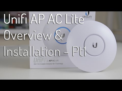 Unifi AP AC Lite Overview & Installation - Pt 1