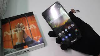 II Nokia 6 II, Finnish minimalist STYLE, a single complete material plastic aluminum alloy body, pre
