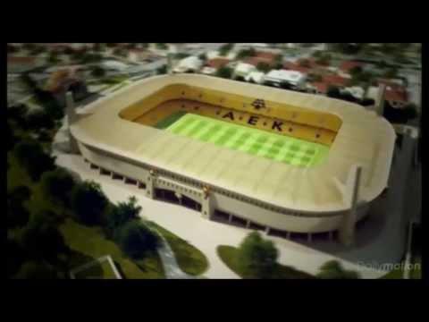 """NEW STADIUM AEK ATHENS """"AGIA SOFIA"""" (EN, GR)"""