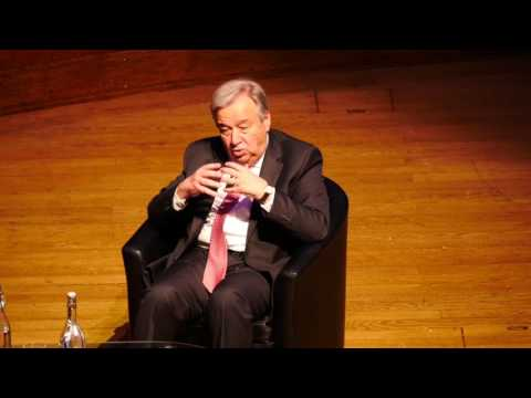 A Conversation with António Guterres, UNA UK London May 10th 2017. Part 1 of 2