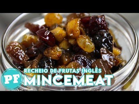 Mincemeat: Recheio de Frutas Inglês para Tortas | PratoFundo