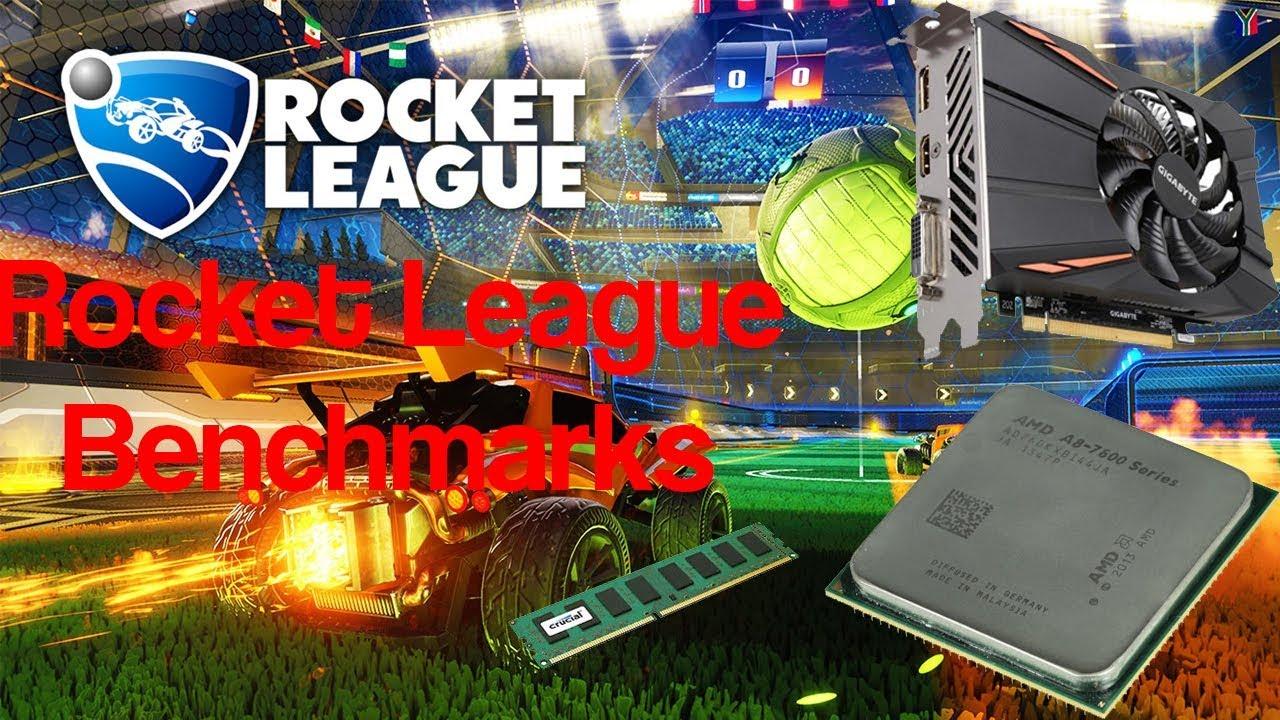 AMD A8-7600 RX 550 4gb Rocket League (Benchmark) - YouTube