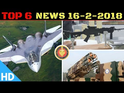 Indian Defence Updates : India Russia FGFA, Air Launched Nirbhay Cleared, DRDO & OFB New Joint Rifle