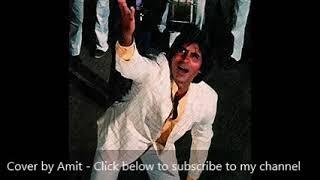 De de pyaar de | Cover by Amit Agrawal | Karaoke | Kishore Kumar | Amitabh Bachchan | Sharaabi