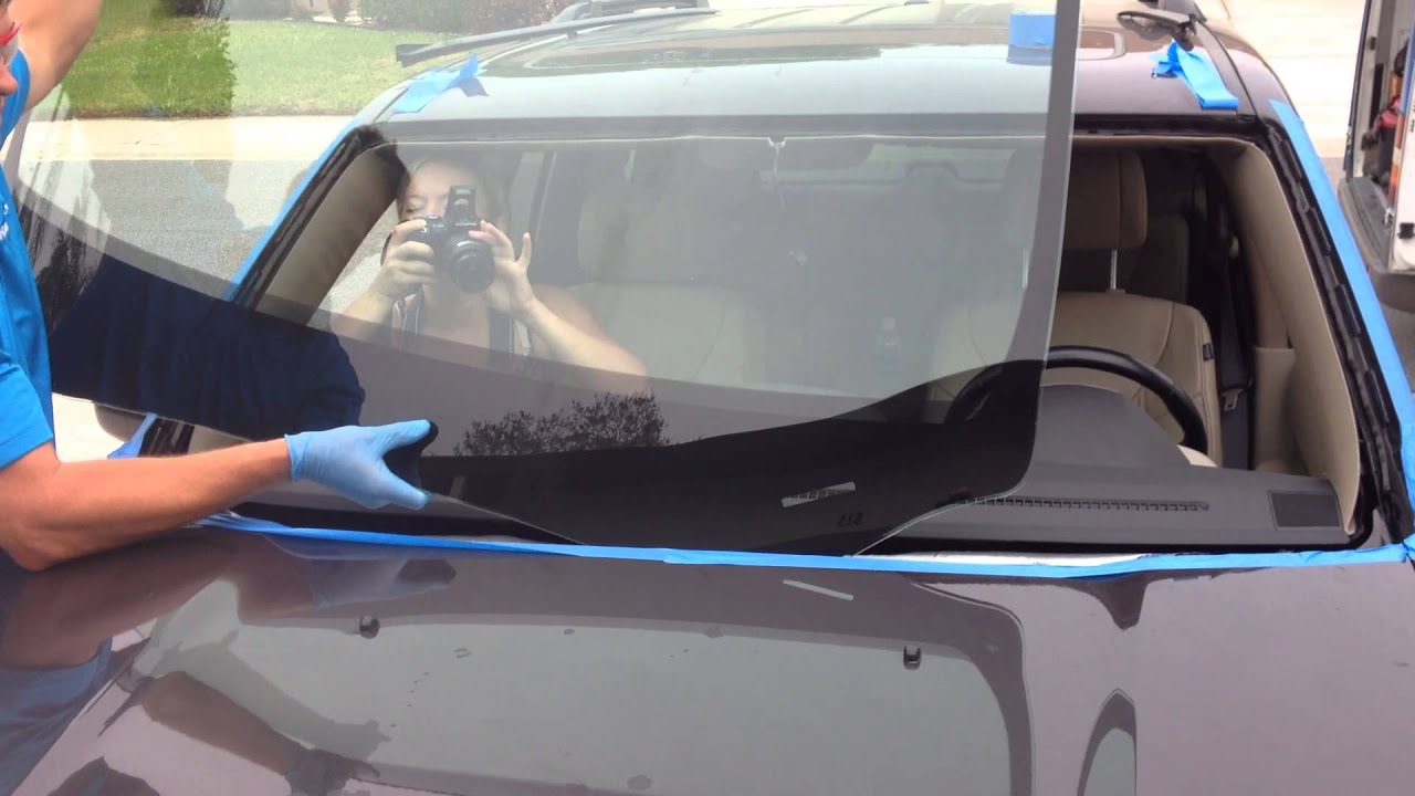How To Install Windshield On A 2017 Honda Pilot With The Rolladeck System