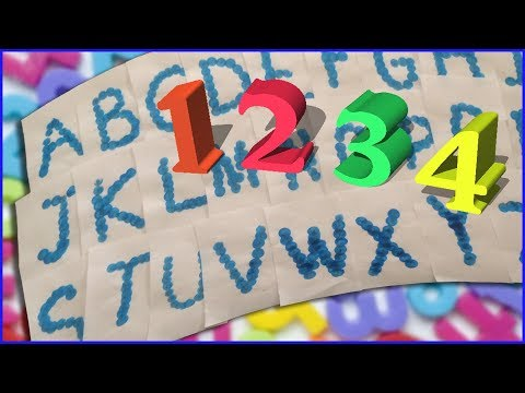 Learning ABC Phonics with Binggo Dabbers and Numbers 1-10 Fridge Magnets
