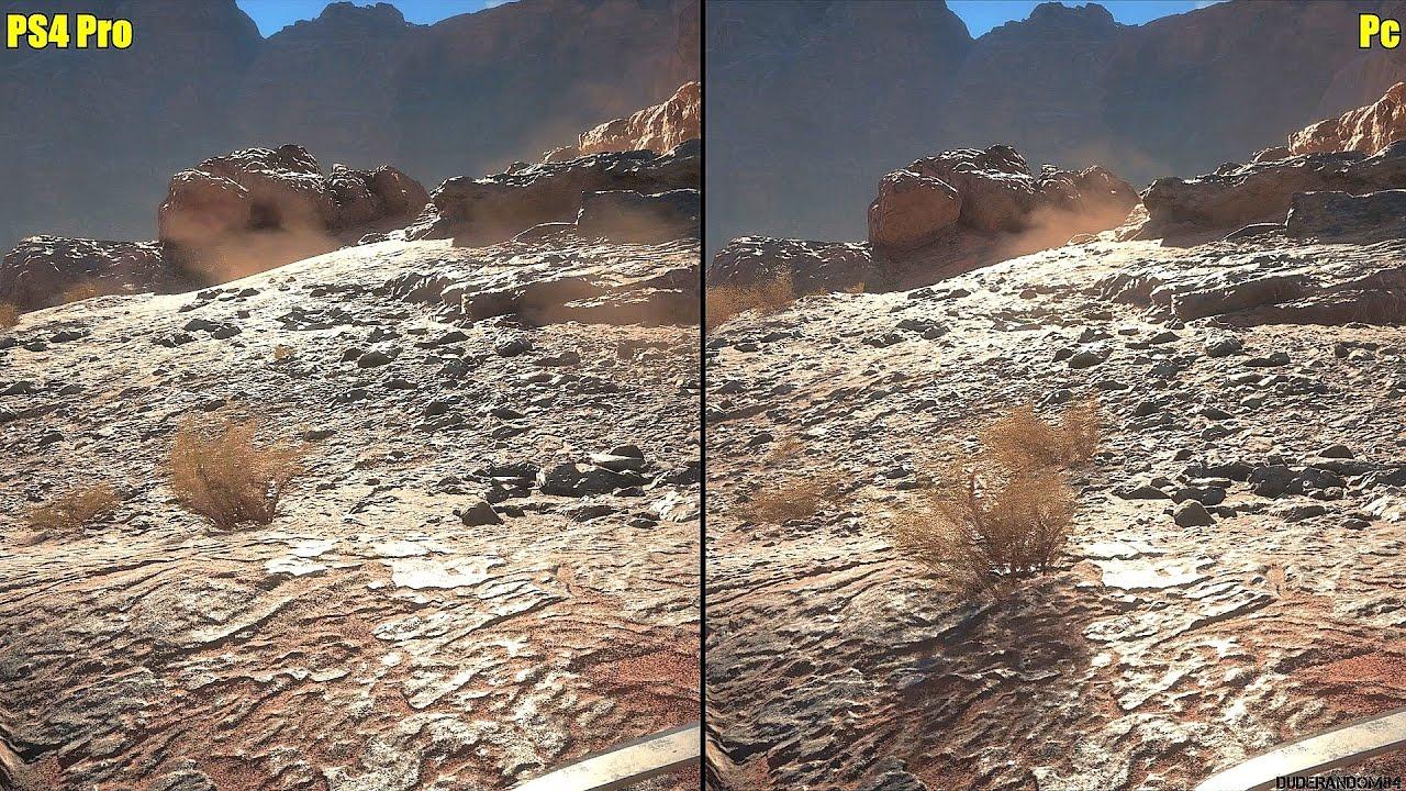 Ps4 Vs Pro >> Battlefield 1 PS4 Pro Vs Pc 1080p Graphics Comparison - YouTube