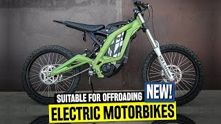Top 7 Electric Motorcycles for Freeride and Dirt Tracks ft. Sur Ron Light-Bee