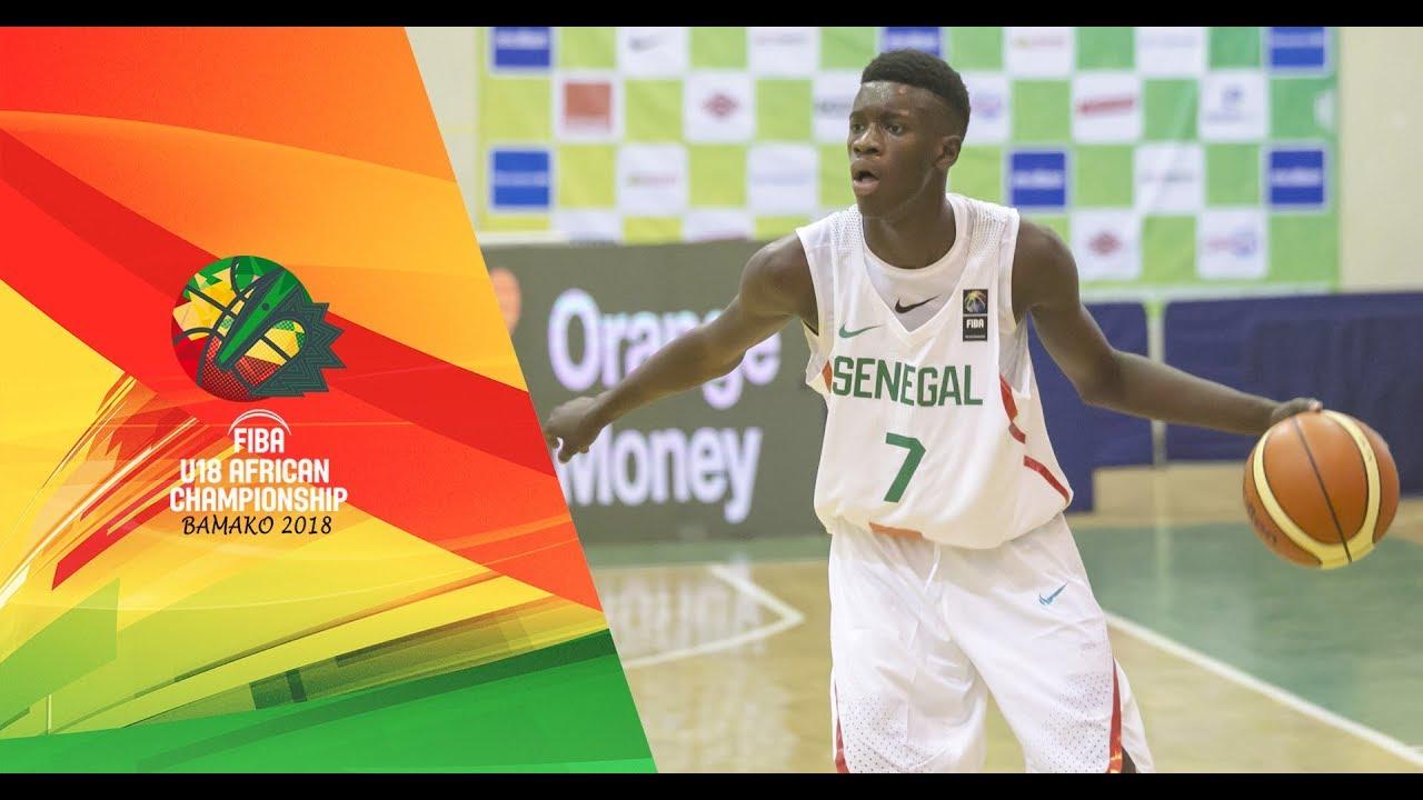 Senegal V Algeria Full Game Fiba U18 African Championship 2018