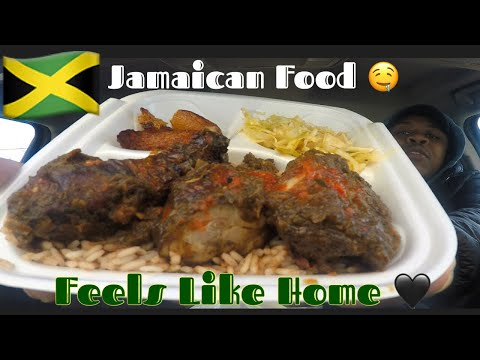 Delphine Jamaican Restaurant Food Review!!! | MAM EATING SHOW | Jerk Chicken |