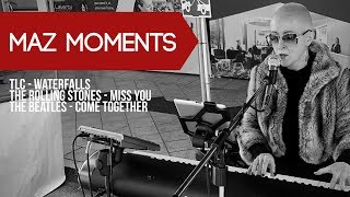 Maz Moments: TLC - Waterfalls, The Rolling Stones - Miss You & The Beatles - Come Together.