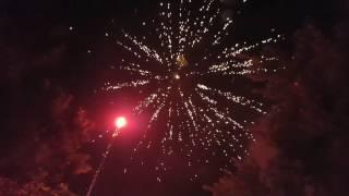 Epic Backyard Fireworks Show 2017