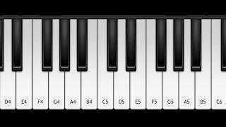تعليم عزف اغنية غنو لحبيبي 🎉 | على بيانو الجوال 🎹