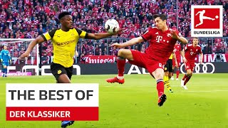 Magical Moments in Bayern vs. Dortmund • Lewandowski, Kahn On Fire and More
