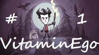 Don't Starve - My Semi-Let's Play With Tips And Tricks By VitaminEgo #1