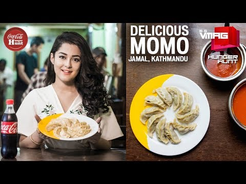 Momos to die for | DELICIOUS MOMO PASAL | COCA-COLA HUNGER HUNT | M&S VMAG