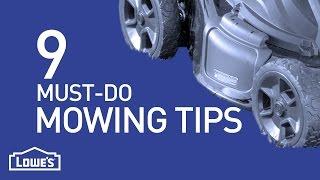 9 Must-Do Mowing Tips | DIY Basics