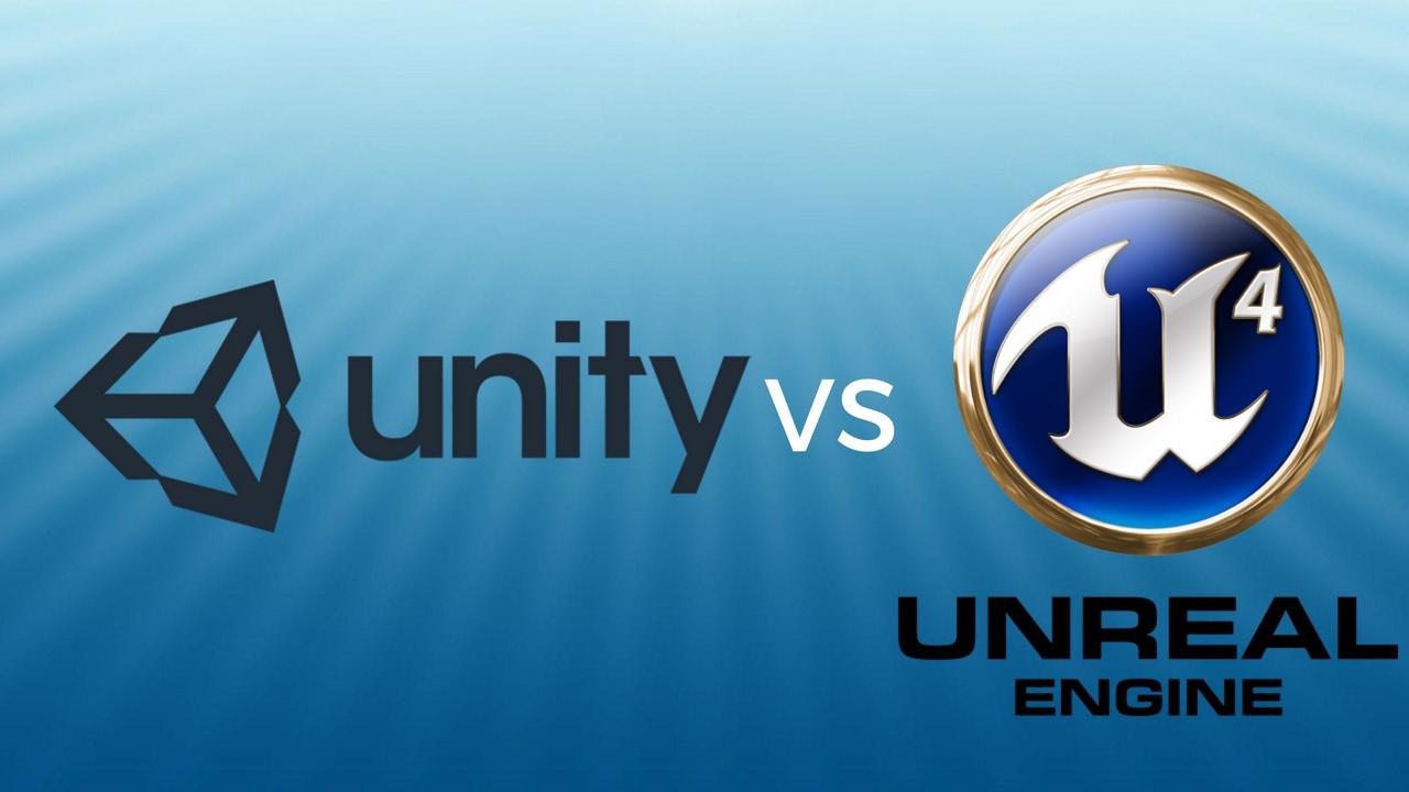 unreal engine 4 vs unity 5 comparision