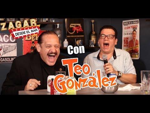 Zagar desde el Bar con Teo González
