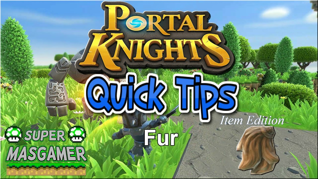 winter fur portal knights
