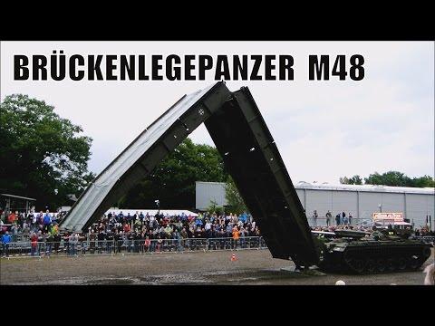 Stahl auf der Heide 2016 ★ Brückenlegepanzer M48 A2 ★