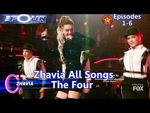 Zhavia All  Performances   All Songs with Background Story The Four Season 1 Episodes 1- 6