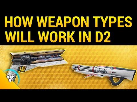 Destiny 2: Kinetic, Energy, & Power Weapons + Exotics!