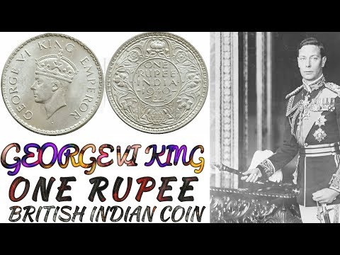 Indian 1 Rs (One Rupee) Silver Coin Value