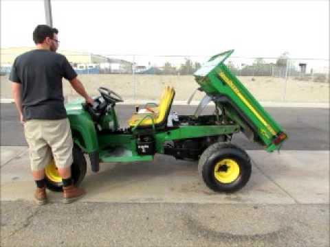 For Sale 2005 John Deere Gator Hpx Atv Utv Utility Cart