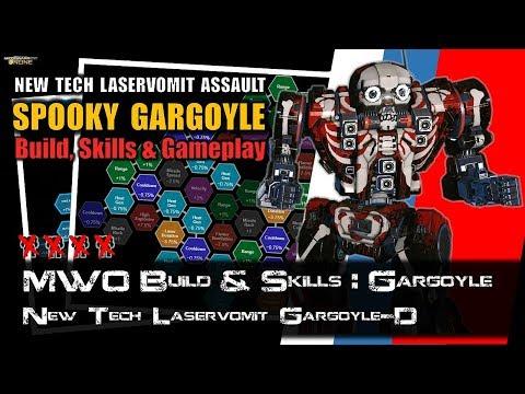 [BRxV] MWO Build & Skills : New Tech Laservomit Gargoyle