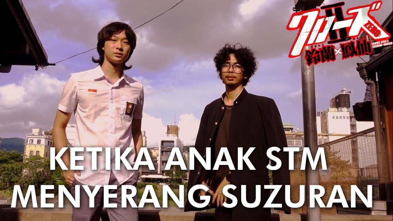 BELAJAR BAHASA JEPANG KASAR ALA CROWS ZERO SUZURAN! feat DILAN & SERIZAWA!