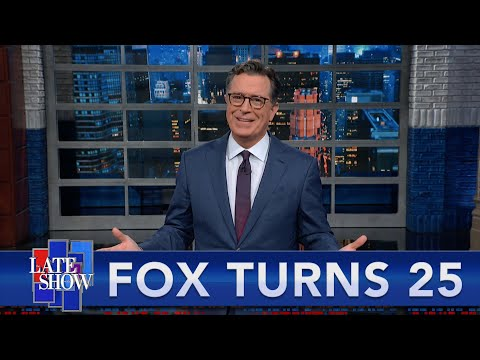 Stephen Colbert Presents: The Best Moments From 25 Years Of Fox News